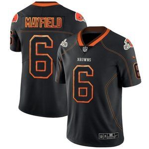 Cleveland Browns Baker Mayfield Brown   Jersey (1)